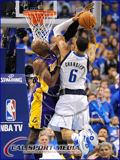 Los Angeles Lakers v Dallas Mavericks Playoffs Tyson Chandler