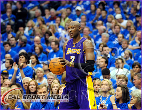 Los Angeles Lakers vs Dallas Mavericks Playoffs Lamar Odom