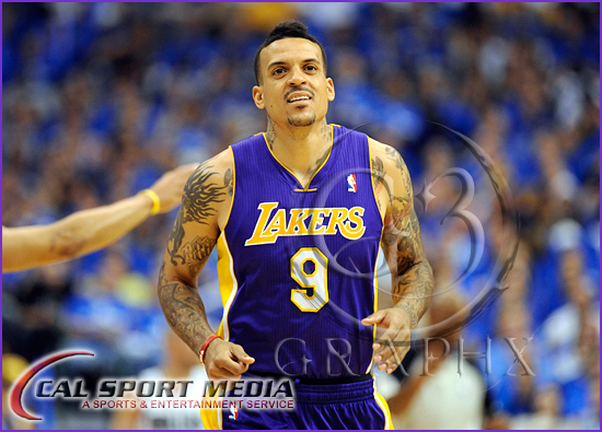 Los Angeles Lakers vs Dallas Mavericks Playoffs Matt Barnes