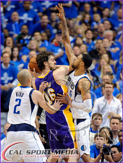 Los Angeles Lakers v Dallas Mavericks Playoffs Pau Gasol Tyson Chandler