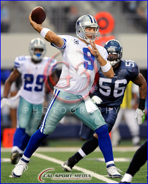 Dallas Cowboys vs Seattle Seahawks  Tony Romo