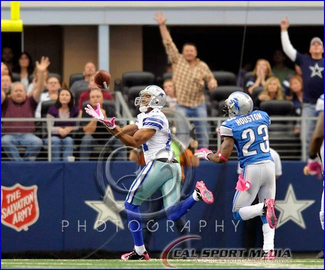 Detroit Lions vs Dallas Cowboys Laurent Robinson