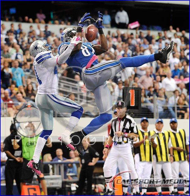 Detroit Lions vs Dallas Cowboys Calvin Johnson
