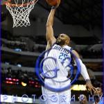 Oklahoma City Thunder vs Dallas Mavericks Vince Carter #25
