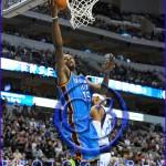 Oklahoma City Thunder vs Dallas Mavericks Kevin Durant #35