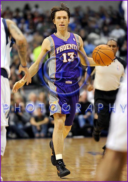 NBA 2012: Phoenix Suns vs Dallas Mavericks JAN 04 Steve Nash