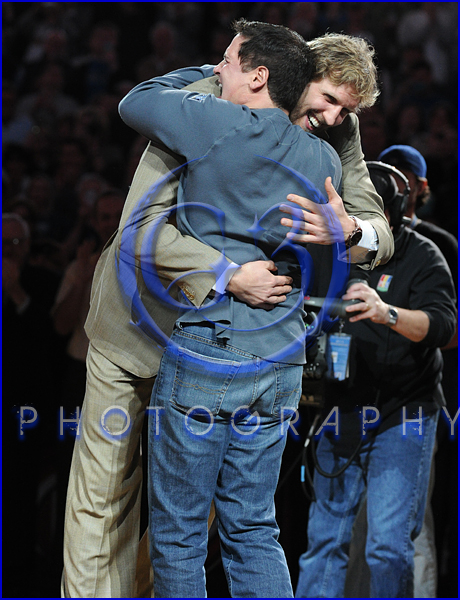 Dallas Mavericks Championship Ring Ceremony Mark Cuban Dirk Nowitzki