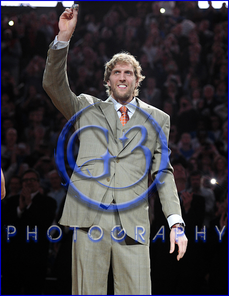 Dallas Mavericks Championship Ring Ceremony Dirk Nowitzki