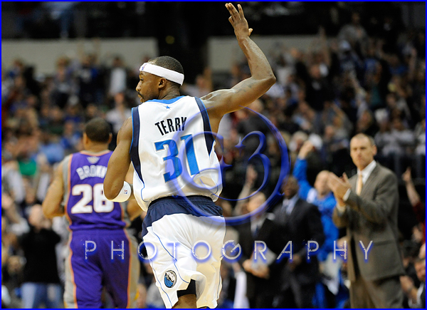 NBA 2012: Phoenix Suns vs Dallas Mavericks JAN 04 Jason Terry