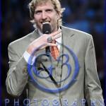 Dallas Mavericks Championship Ring Ceremony Dirk Nowitzki
