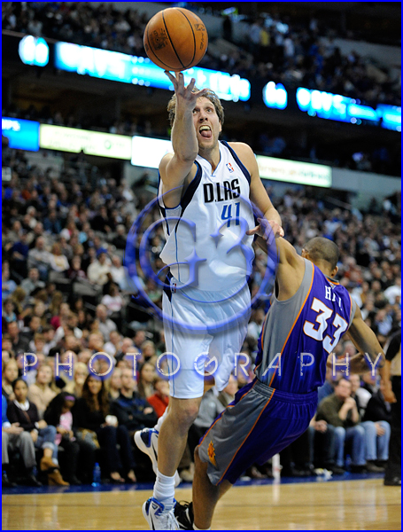 NBA 2012: Phoenix Suns vs Dallas Mavericks JAN 04 Dirk Nowitzki