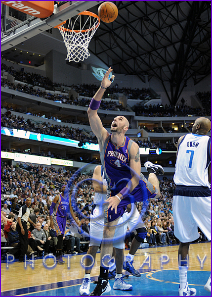 NBA 2012: Phoenix Suns vs Dallas Mavericks JAN 04 Marcin Gortat
