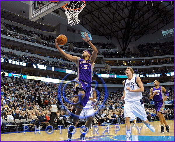 NBA 2012: Phoenix Suns vs Dallas Mavericks JAN 04