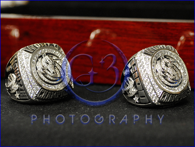 Dallas Mavericks Championship Ring Ceremony