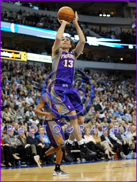 NBA 2012: Phoenix Suns vs Dallas Mavericks JAN 04 Steve Nash