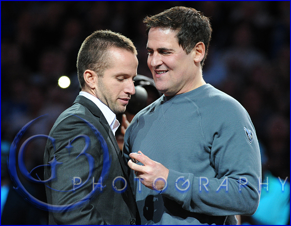Dallas Mavericks Championship Ring Ceremony JJ Barea