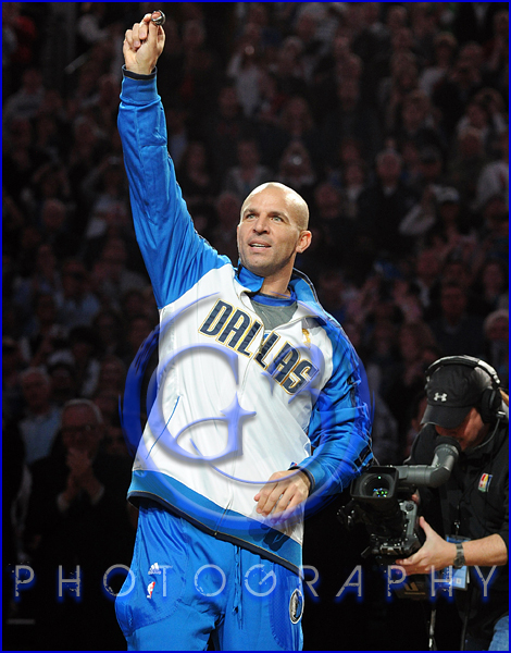 Dallas Mavericks Championship Ring Ceremony Jason Kidd