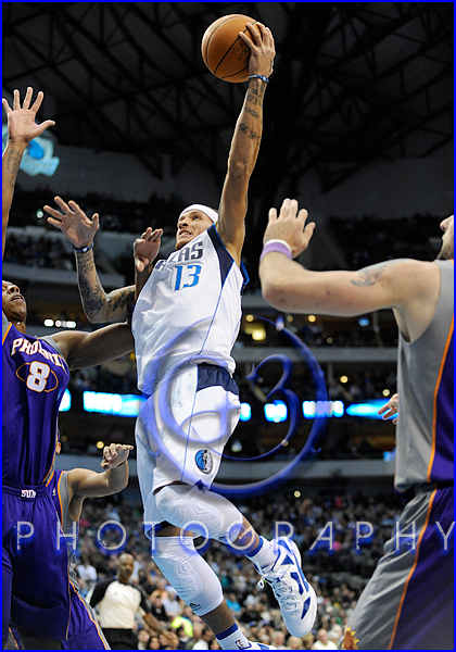 NBA 2012: Phoenix Suns vs Dallas Mavericks JAN 04 Delonte West