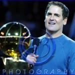 Dallas Mavericks Championship Ring Ceremony Mark Cuban