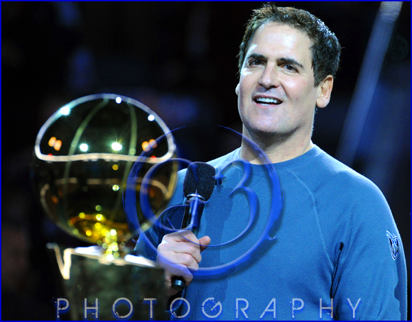 Dallas Mavericks Championship Ring Ceremony Mark Cuban