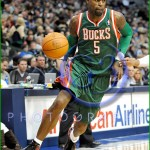 NBA Milwaukee Bucks vs Dallas Mavericks JAN 13 Stephen Jackson