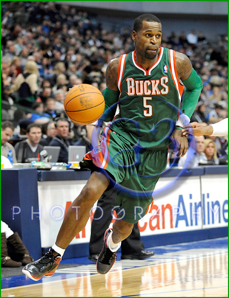 NBA Milwaukee Bucks vs Dallas Mavericks JAN 13 Stephen Jackson