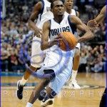NBA Milwaukee Bucks vs Dallas Mavericks JAN 13 Roddy Beaubois