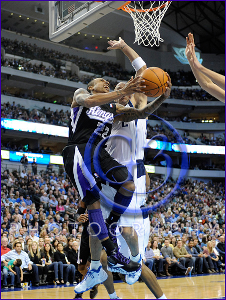 NBA 2012: Kings vs Mavericks JAN 14