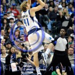 NBA Milwaukee Bucks vs Dallas Mavericks JAN 13 Dirk Nowitzki