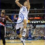 NBA: FEB 11 Trail Blazers at Mavericks