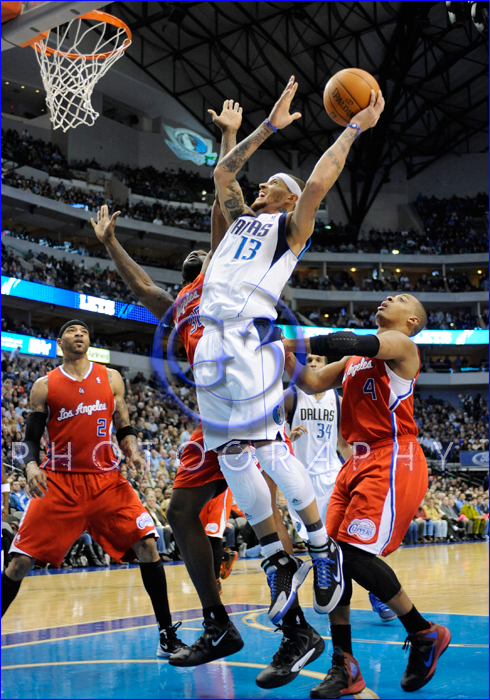 NBA 2012: Clippers vs Mavericks FEB 13