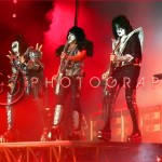 KISS Dallas, TX Concert Gene Simmons Paul Stanley Tommy Thayer