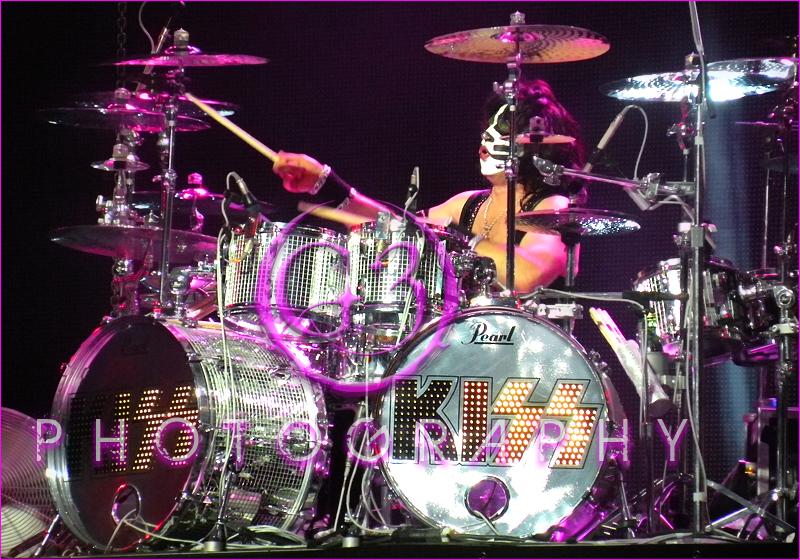KISS Dallas, TX Concert Eric Singer