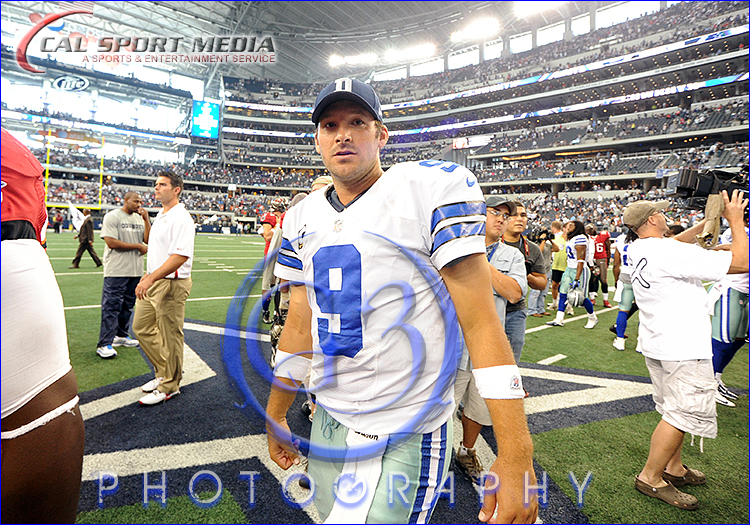 NFL: Tampa Bay Buccaneers vs Dallas Cowboys Tony Romo