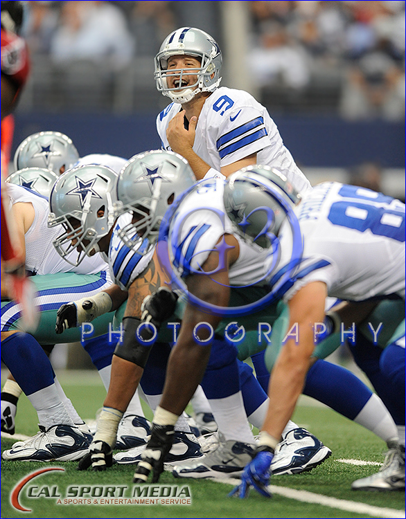 NFL: Tampa Bay Buccaneers vs Dallas Cowboys Tony Romo