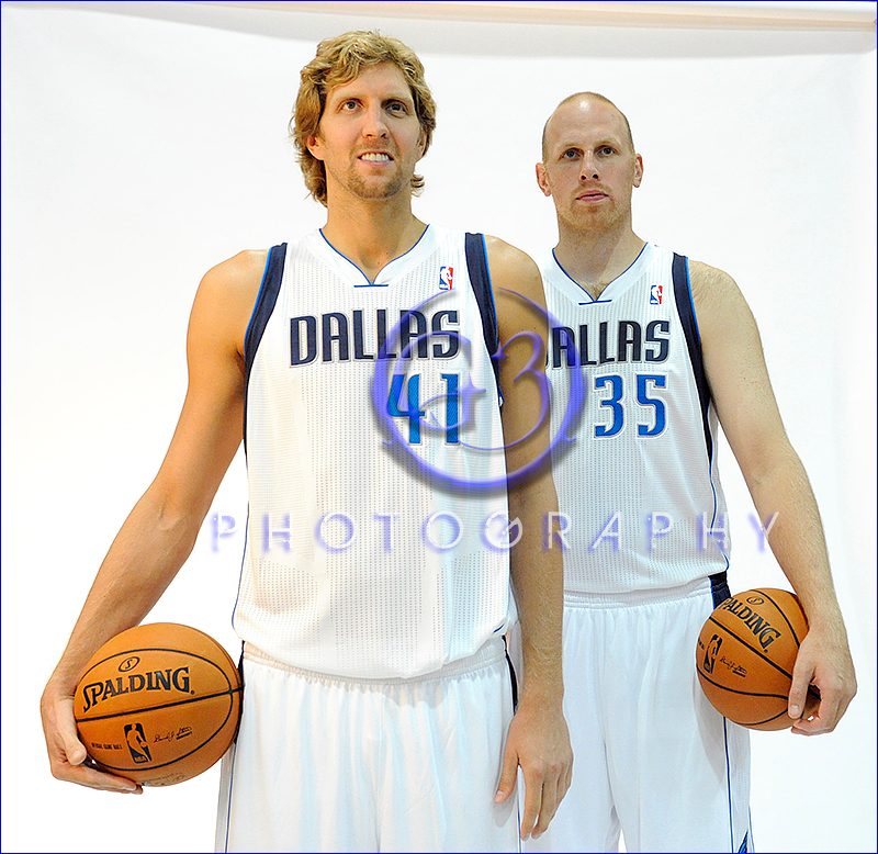 Dallas Mavericks Media Day 2012