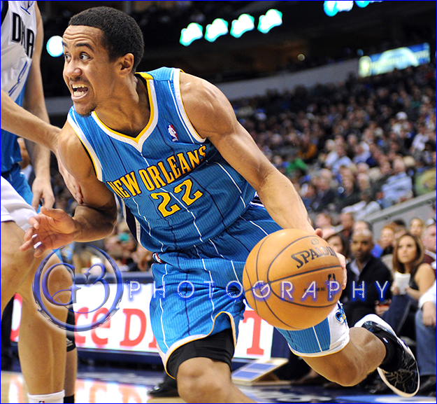 Jan 05, 2013:  New Orleans Hornets point guard Brian Roberts #22 drives along the baseline
