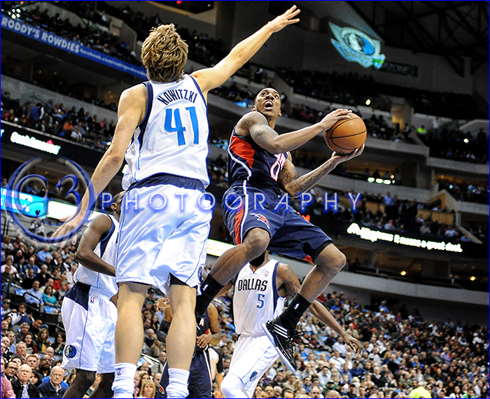 NBA 2013: Hawks vs Mavericks FEB 11